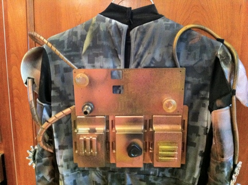 Steampunk Robot Backpack