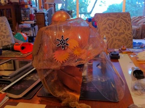 Steampunk Robot Helmet