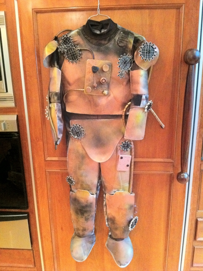 Steampunk Robot Halloween Costume