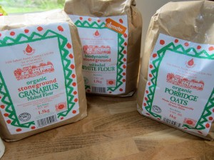 Stoneground Biodynamic Flours from the Lake District