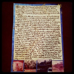 The House That My Dad Built   - Letter to Home Project @arthouse