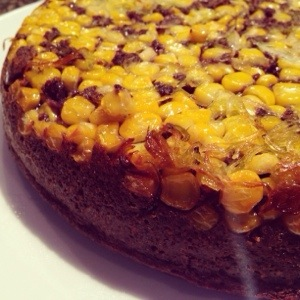 Purple Corn Skillet Bread
