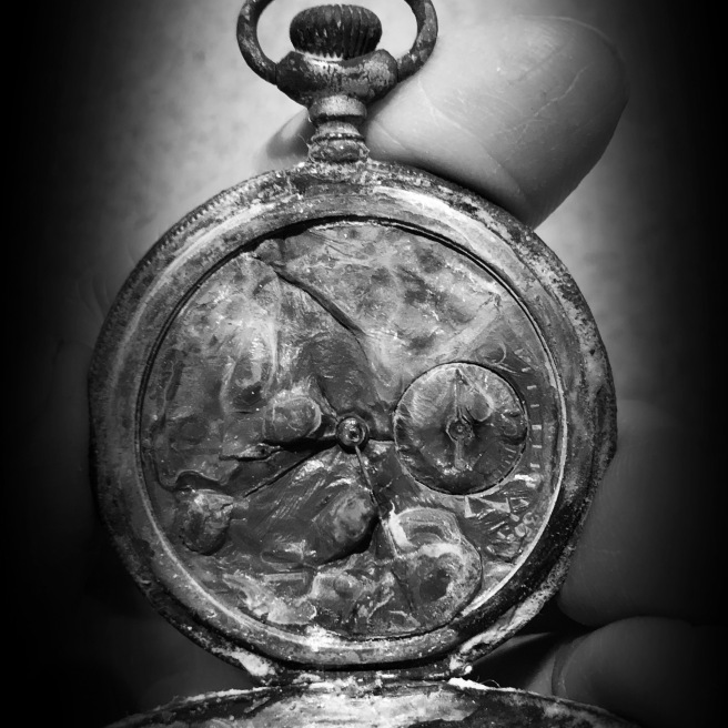 Melted Pocket Watch